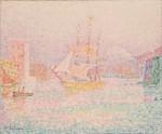 Живопись | Поль Синьяк | Гавань в Марселе, 1906