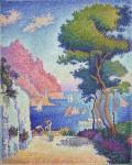 Живопись | Поль Синьяк | Capo Di Noli, 1898