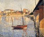 Живопись | Поль Синьяк | Le Clipper, Asnieres, 1887