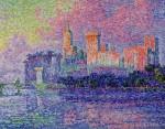 Живопись | Поль Синьяк | The Papal Palace, Avignon, 1900