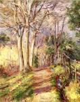 Живопись | Теодор Робинсон | Path in Frascati, 1891