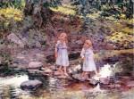 Живопись | Теодор Робинсон | Stepping Stones, 1893