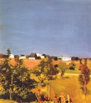 Живопись | Фэрфилд Портер | Фруктовый сад Хэзена, 1965