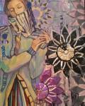 Живопись | Nata Vonk | Фрагмент картины Творческий радикал