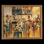 Живопись | Nata Vonk | 3 картина Цветные тени
