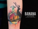 Татуировка | Banana Tattoo Moscow
