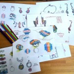 Творчество | Nata Vonk | Эскизы украшений