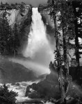 Фотография | Ансел Адамс | Nevada Fall, Rainbow, 1947