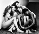 Фотография | Герб Ритц | Stephanie, Cindy, Christy, Tatjana, Naomi. Hollywood, 1989