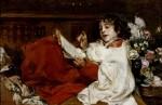 Живопись | Игнасио Пиназо Камарленх | Un monaguillo solfeando, 1891