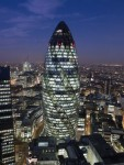 Архитектура | Норман Фостер | 30 St Mary Axe, Лондон