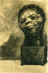 Графика   Одилон Редон   Человек-кактус, 1882