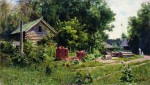 Живопись | Василий Поленов | Дворик, 1881