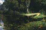 Живопись | Василий Поленов | Заросший пруд, 1879