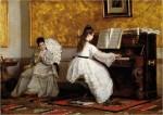 Живопись | Вито Д'Анкона | The Piano Lesson