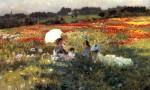 Живопись | Джузеппе де Ниттис | In the Fields around London