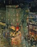 Живопись | Константин Коровин | Париж. Бульвар Капуцинок, 1906