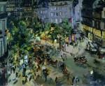 Живопись | Константин Коровин | Париж. Бульвар Капуцинок, 1911
