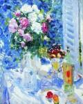 Живопись | Константин Коровин | Цветы и фрукты, 1911-12