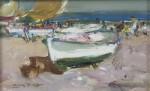Живопись | Луис Гинер Буэно | Vista de la playa