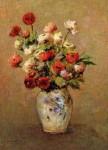 Живопись | Одилон Редон | Bouquet of Flowers, 1900