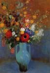 Живопись   Одилон Редон   Bouquet of Wild Flowers, 1900
