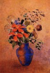 Живопись | Одилон Редон | Vase of Flowers, 1900
