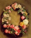 Живопись | Пьер Огюст Ренуар | Корона из роз, 1858