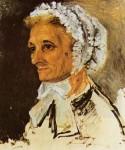 Живопись | Пьер Огюст Ренуар | Мать художника, 1860