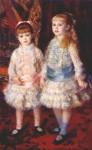 Живопись | Пьер Огюст Ренуар | Розовый и синий, 1881