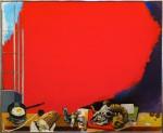 Живопись | Ренато Гуттузо | Красное облако