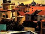 Живопись | Ренато Гуттузо | Крыши Рима