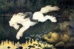 Живопись | Теодор Киттельсен | Водяной дух в образе белой лошади, 1909