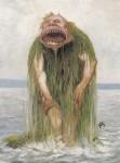 Живопись | Теодор Киттельсен | Водяной тролль, питающийся только молодыми девушками, 1881