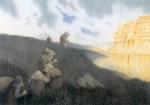 Живопись | Теодор Киттельсен | На праздник в замок троллей, 1904