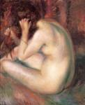 Живопись | Уильям Джеймс Глакенс | Back of nude, 1933