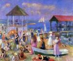 Живопись | Уильям Джеймс Глакенс | Beach Scene, New London, 1918