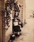 Фотография | Генри Пич Робинсон | Красная Шапочка у двери дома ее бабушки, 1858