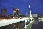 Архитектура | Сантьяго Калатрава | «Мост Женщины», Буэнос-Айрес, Аргентина