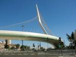 Архитектура | Сантьяго Калатрава | «Струнныи мост», Иерусалим, Израиль