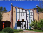 Архитектура   Фриденсрайх Хундертвассер   Винокурня «Дон Кихот», Долина Напа, США