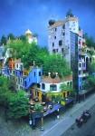 Архитектура | Фриденсрайх Хундертвассер | Дом Хундертвассер, Вена, Австрия