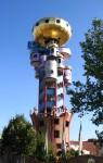 Архитектура   Фриденсрайх Хундертвассер   Kuchlbauer-Turm, Абенсберг, Германия