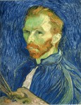 Живопись | Винсент ван Гог | Автопортрет с палитрой, 1889