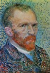 Живопись   Винсент ван Гог   Автопортрет, 1887