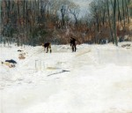 Живопись | Джулиан Олден Уир | Ледорезы, 1895