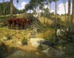 Живопись | Джулиан Олден Уир | Полуденный отдых, 1897