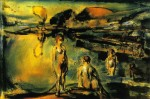 Живопись | Жорж Руо | Bathing in a Lake, 1907
