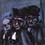 Живопись | Жорж Руо | Judges, 1907