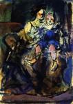 Живопись | Жорж Руо | Mother and Child, 1905
